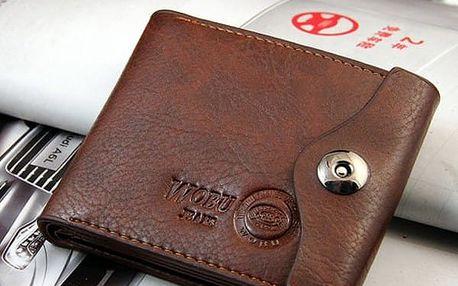 Pánská peněženka se cvočkem - dodání do 2 dnů