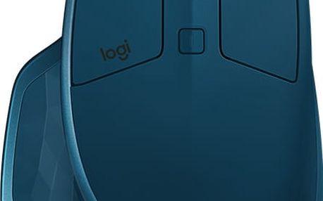 Logitech MX Master 2S, modrá - 910-005140