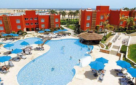 Hotel Aurora Bay Resort, Marsa Alam, Egypt, letecky, all inclusive