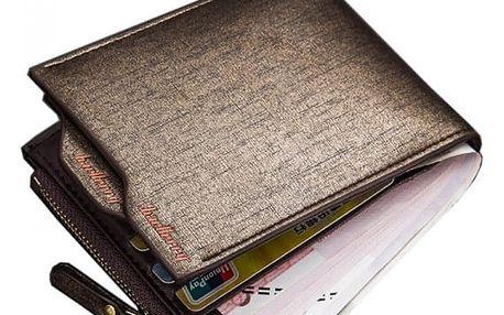 Pánská peněženka v zajímavém provedení - 2 varianty a 2 barvy