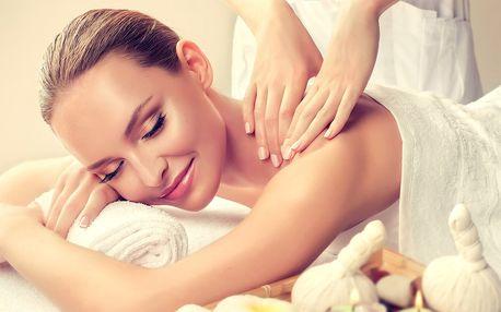 60minutová osvěžující masáž dle výběru