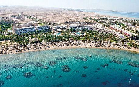 Hotel Fort Arabesque Resort, Hurghada, Egypt, letecky, all inclusive