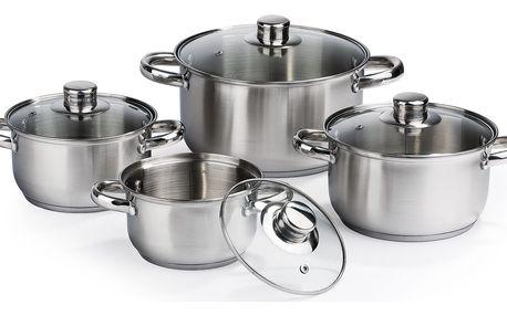 8dílná sada nerezového nádobí Vito