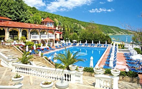 Hotel Elenite Holiday Village, Burgas, Bulharsko, letecky, all inclusive