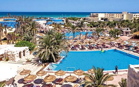 Hotel Quatre Saisons Resort & Aquapark, Djerba, Tunisko, letecky, all inclusive