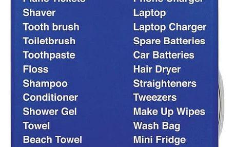 Obal na kufr LOQI Things To Pack