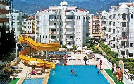 Hotel Emir Fosse Beach, Turecká riviéra, Turecko, letecky, all inclusive