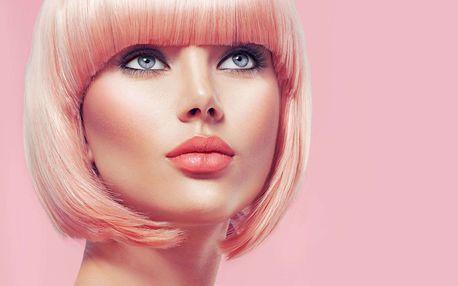 Dámský střih včetně foukané nebo barvení či melír pro jakoukoli délku vlasů v Prima Studiu