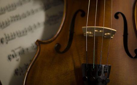 Sólo pro tři: Sopráno, housle a varhany