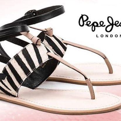 Dámské sandále značky Pepe Jeans včetně pošty - vel. 40
