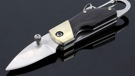 Skládací nožík na klíče - 10,6 cm - dodání do 2 dnů