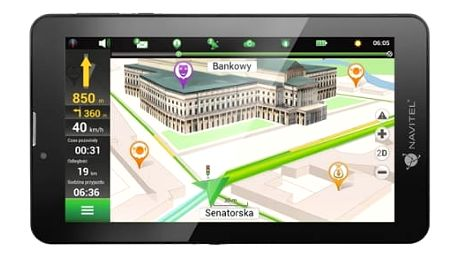 Navigační systém GPS Navitel T700 3G (C2047028) černá