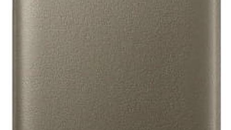 Pouzdro na mobil flipové Samsung pro Galaxy S7 Edge (EF-NG935P) (EF-NG935PFEGWW) zlaté