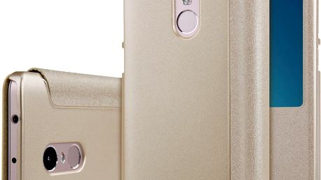 Nillkin Sparkle Leather Case pro Xiaomi Redmi Note 4, zlatá - NIL232