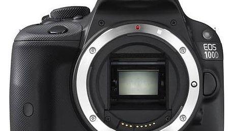 Digitální fotoaparát Canon EOS 100D tělo (8576B019) černý + Doprava zdarma