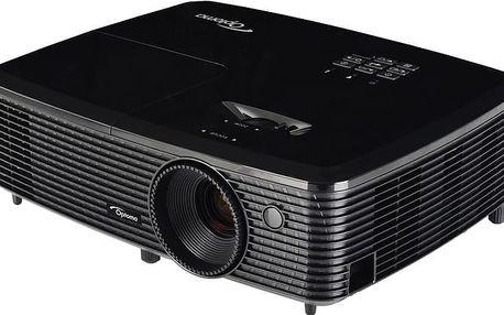 "Optoma HD140X - 95.72J02GC2LRPL + Plátno Optoma DS-9092PWC, 92"", 16:9 v ceně 2690 Kč"
