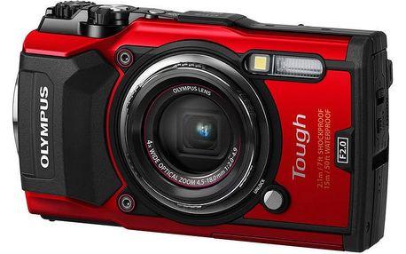 Olympus TG-5, červená - V104190RE000