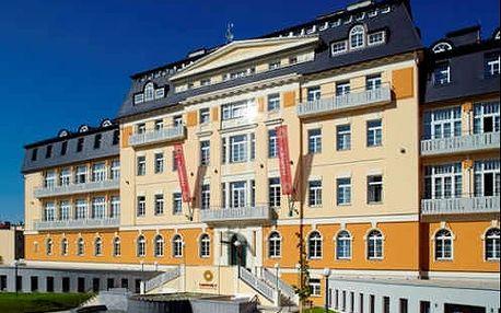 Františkovy Lázně - luxusní relaxační pobyt ve 4 * hotelu s neomezeným wellnessem