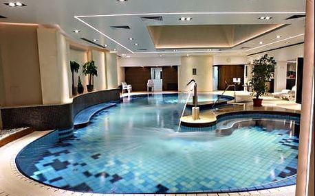 Neomezený wellness pobyt s bazénem v Palace Hotel Hévíz**** kousek od termálního jezera