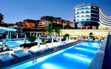 Turecko - Alanya na 8 až 9 dní, ultra all inclusive s dopravou letecky z Brna nebo Prahy