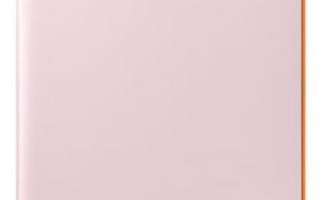 Pouzdro na mobil flipové Samsung Neon Flip pro Galaxy A3 2017 (EF-FA320P) (EF-FA320PPEGWW) růžové