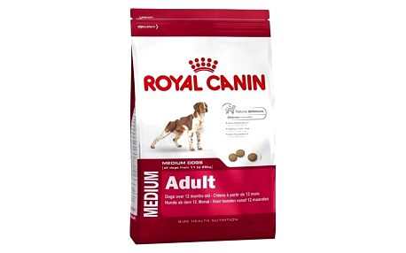 Granule Royal Canin Medium Adult 15 kg + Doprava zdarma