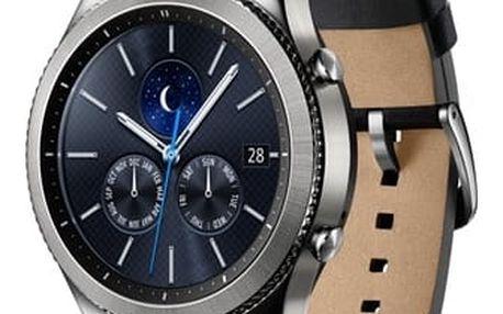 Chytré hodinky Samsung Gear S3 Classic (SM-R770NZSAXEZ) + DOPRAVA ZDARMA