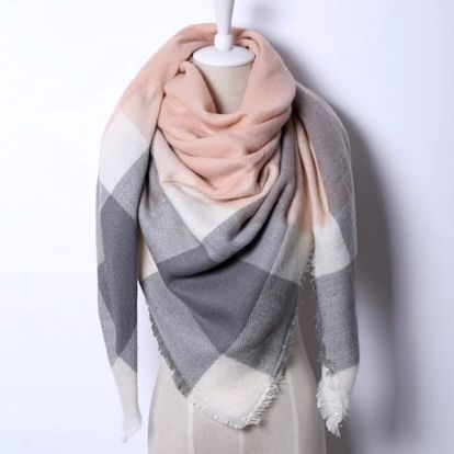 Trojúhelníkový velký šátek - dodání do 2 dnů