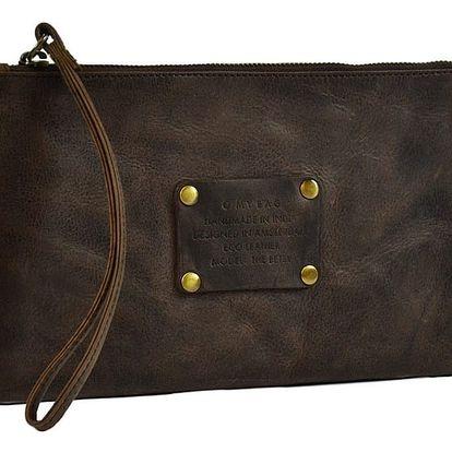 Tmavě hnědá kožená kabelka O My Bag The Betsy - doprava zdarma!