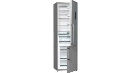 Kombinace chladničky s mrazničkou Gorenje NRK6203TX šedá