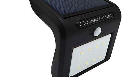 Solární LED světlo s pohybovým senzorem - 8 LED zářivek - dodání do 2 dnů