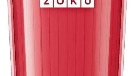 Červený kelímek na ledovou kávu Zoku Iced Coffee