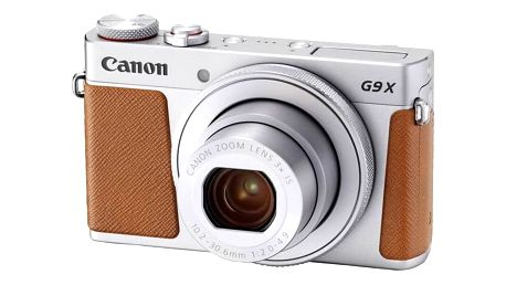 Digitální fotoaparát Canon PowerShot PowerShot G9 X Mark II Silver (1718C002) stříbrný Paměťová karta Kingston SDXC 64GB UHS-I U3 (90R/80W) (zdarma) + cashback + Doprava zdarma