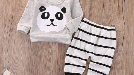 Bavlněný dětský set s pandičkou