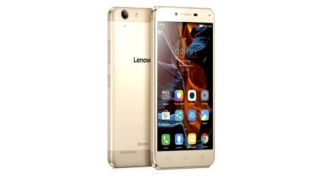 Mobilní telefon Lenovo K5 Dual SIM (PA2M0150CZ) zlatý