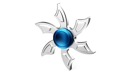 Kovový fidget spinner v originálním designu
