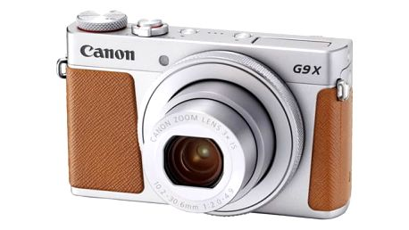 Digitální fotoaparát Canon PowerShot G9 X Mark II Silver (1718C002) stříbrný