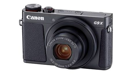 Digitální fotoaparát Canon PowerShot PowerShot G9 X Mark II Black (1717C002) černý Paměťová karta Kingston SDXC 64GB UHS-I U3 (90R/80W) (zdarma) + cashback + Doprava zdarma