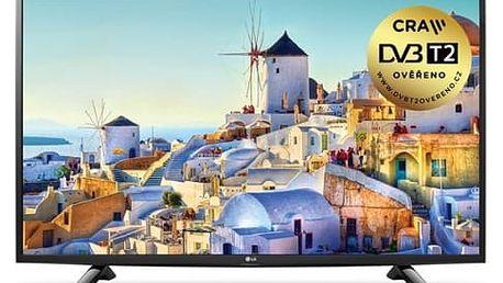 Televize LG 43UH603V černá