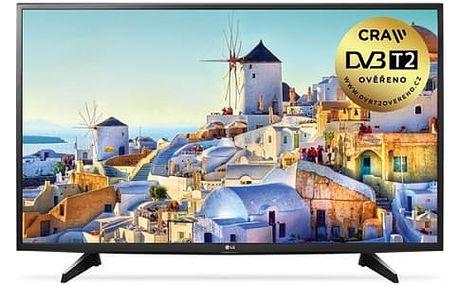 Televize LG 43LH590V černá