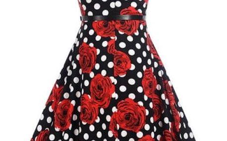 Elegantní šaty s originálními květinovými a jinými vzory - 12 vzorů