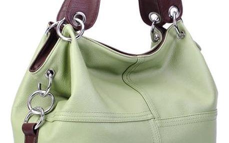 Dámská kabelka pro každodenní nošení - zelená - dodání do 2 dnů