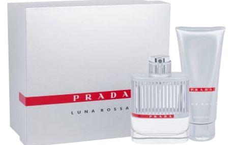 Prada Luna Rossa dárková kazeta pro muže toaletní 100 ml + sprchový gel 100 ml