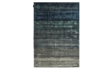 Ručně tkaný koberec Linie Design Shiny Petrol, 170x240cm - doprava zdarma!