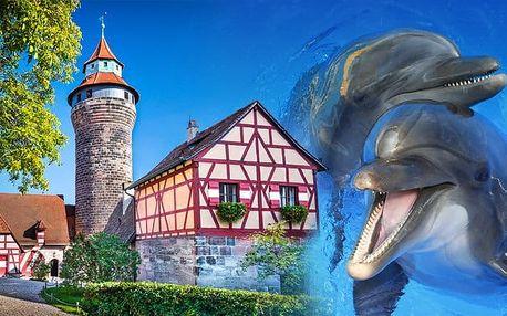 1denní zájezd do německého Norimberku s návštěvou ZOO a delfinária pro 1 osobu