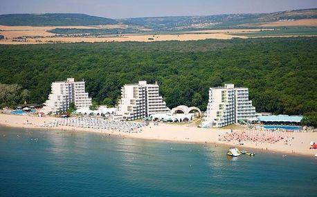 Bulharsko - Albena na 8 dní, all inclusive s dopravou letecky z Prahy