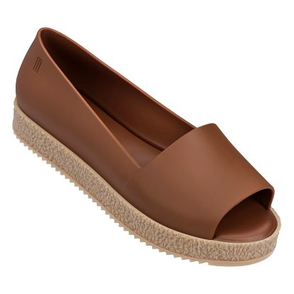 Melissa hnědé boty Puzzle Brown - 41/42