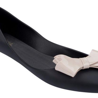 Melissa černé boty Trippy IV Black/Beige - 39