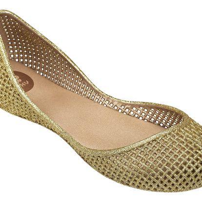 Zaxy zlaté balerínky Amora Fem Gold - 40
