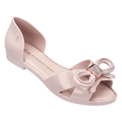 Melissa pudrové sandály Seduction + Vitorino Light Pink - 39